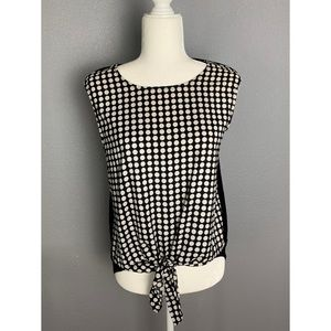 Vince Camuto Polka Dotted Blouse